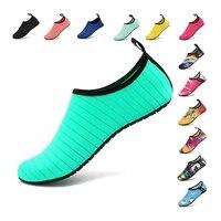 bufeipai womens and mens water shoes barefoot quick dry aqua socks slip on for outdoor beach swim yoga aqua shoes