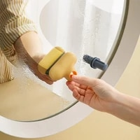 small t bathroom mirror wiper 2 in 1 descaling glass cleaner 2 in 1 defogging glass cleaner cleaning tool household goods