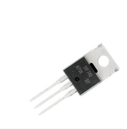 10 Uds IRF740 IRF740N MOSFET de potencia, Canal N 10A 400V