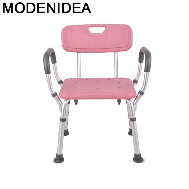 Step muble-Silla De baño Plegable para ancianos, Taburete De pie para Dormitorio, Ducha, Taburete