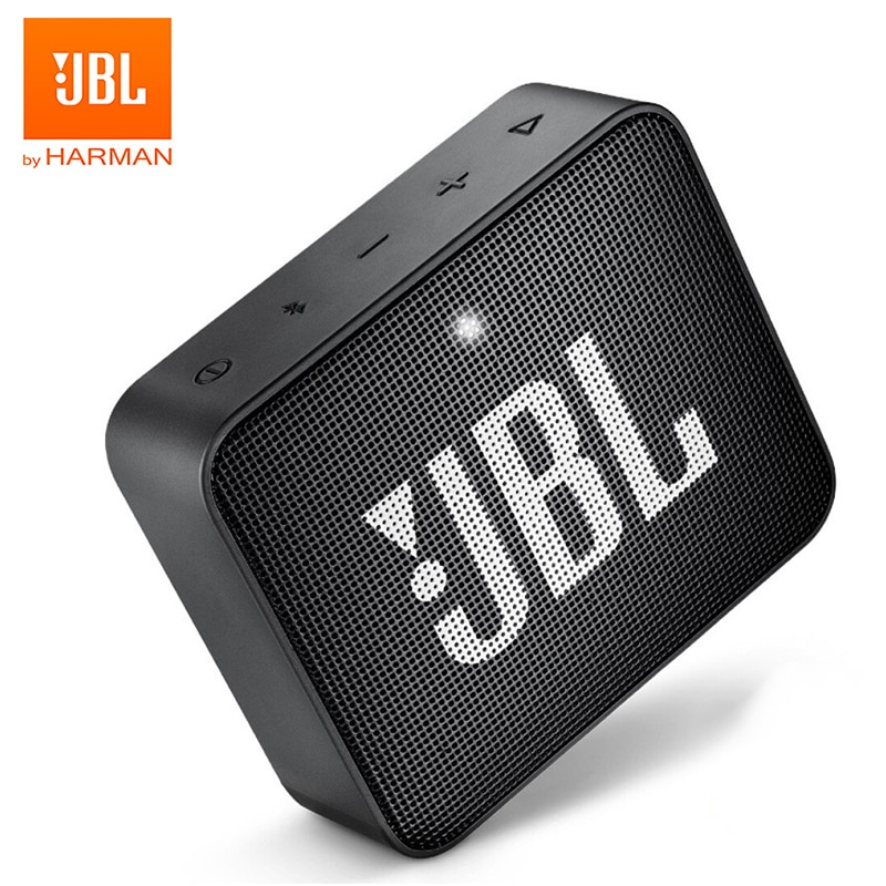 JBL GO2-مكبر صوت بلوتوث لاسلكي ، مكبر صوت خارجي محمول ، مقاوم للماء ، بطارية قابلة لإعادة الشحن مع ميكروفون ، GO 2 Original