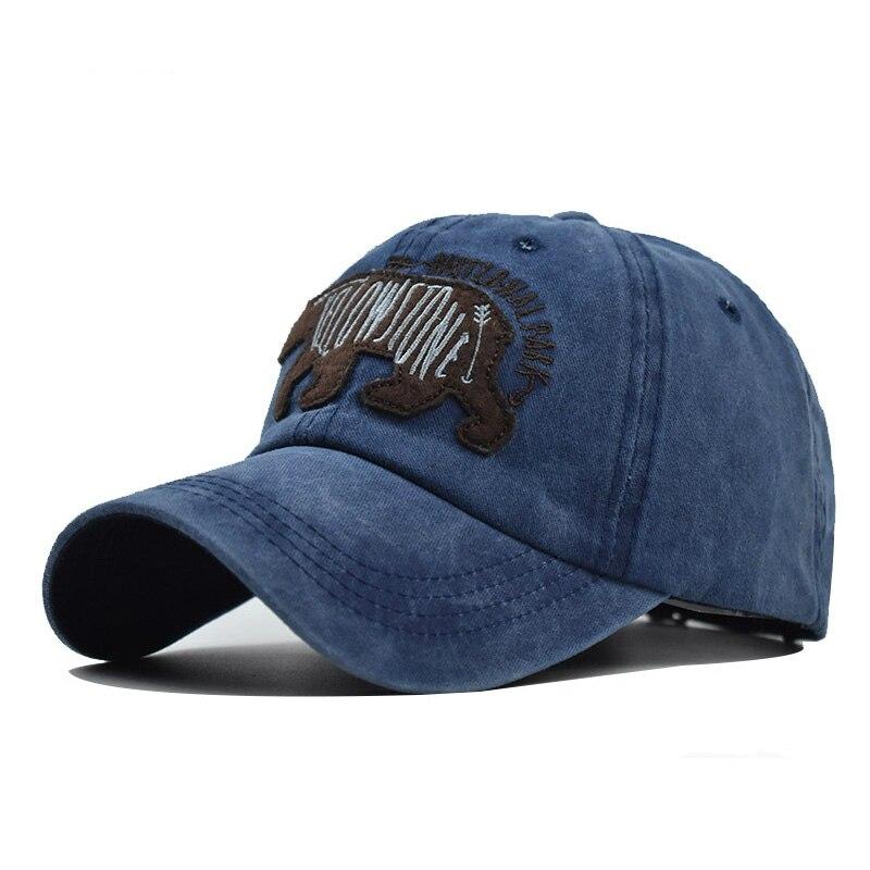 Новая хлопковая кепка с рисунком медведя, бейсболки, уличная Спортивная Кепка, бейсболки для мужчин, кепка для женщин, для отдыха, оптовая пр...