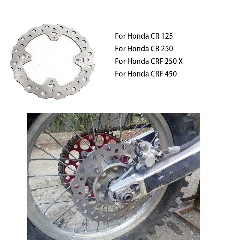 Мотоцикл задний тормозной диск ротор для Honda CR125 CR250 2002-2007 CRF250 2004-2017 CRF450 2002-2017 CRF450X 2005-2017 CRF 450X