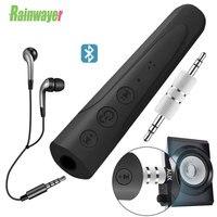 Адаптер Rainwayer для телефона, наушников, автомобильный аудиоприемник, совместим с Bluetooth 5,0, разъем 3,5 мм, Aux