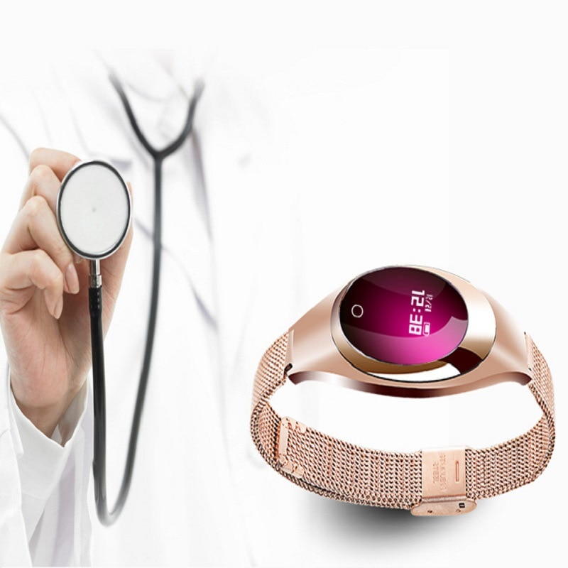 Promo Smart Wearable Sports Bracelet Designed for Women Waterproof Heart Rate Healthy Sleep Monitoring Smart Wearable Hand
