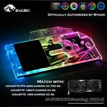 Bykski N-GV2060GamingPRO-X Pleine Cove GPU Bloc Deau Pour GIGABYTE RTX 2060 1660TI/1660 GAMING OC PRO 6GGraphics Carte Refroidisseur