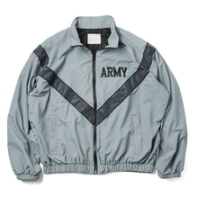 Over sized US Army Improved Physical Fitness Uniform Reflective PT Jacket Windproof Water Resistant