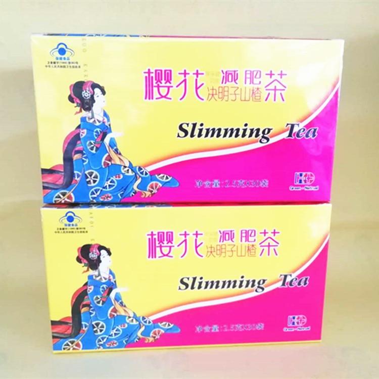 30 bags/box Cherry Blossom Tea Sausage Tea Men and Women Big Belly Elephant Legs