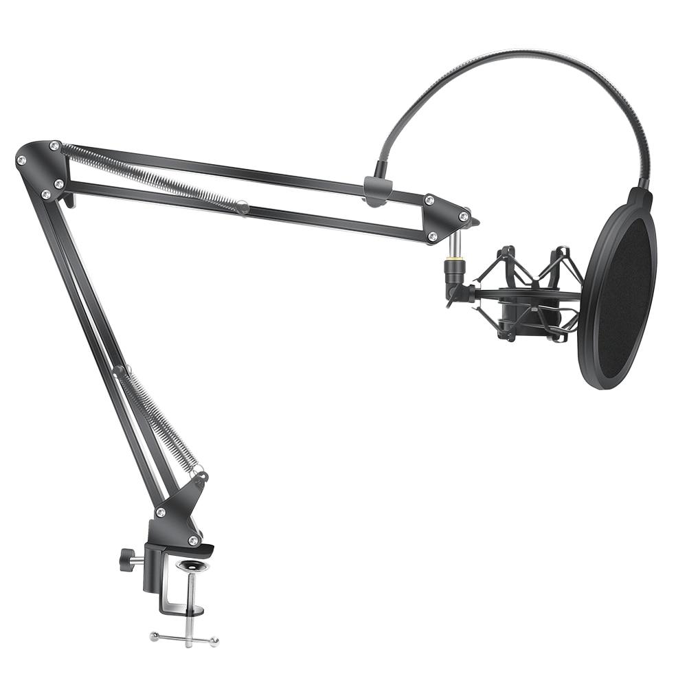 Микрофон ножничный держатель Bm800 штатив подставка для микрофона с пауком консольный кронштейн универсальное ударное крепление