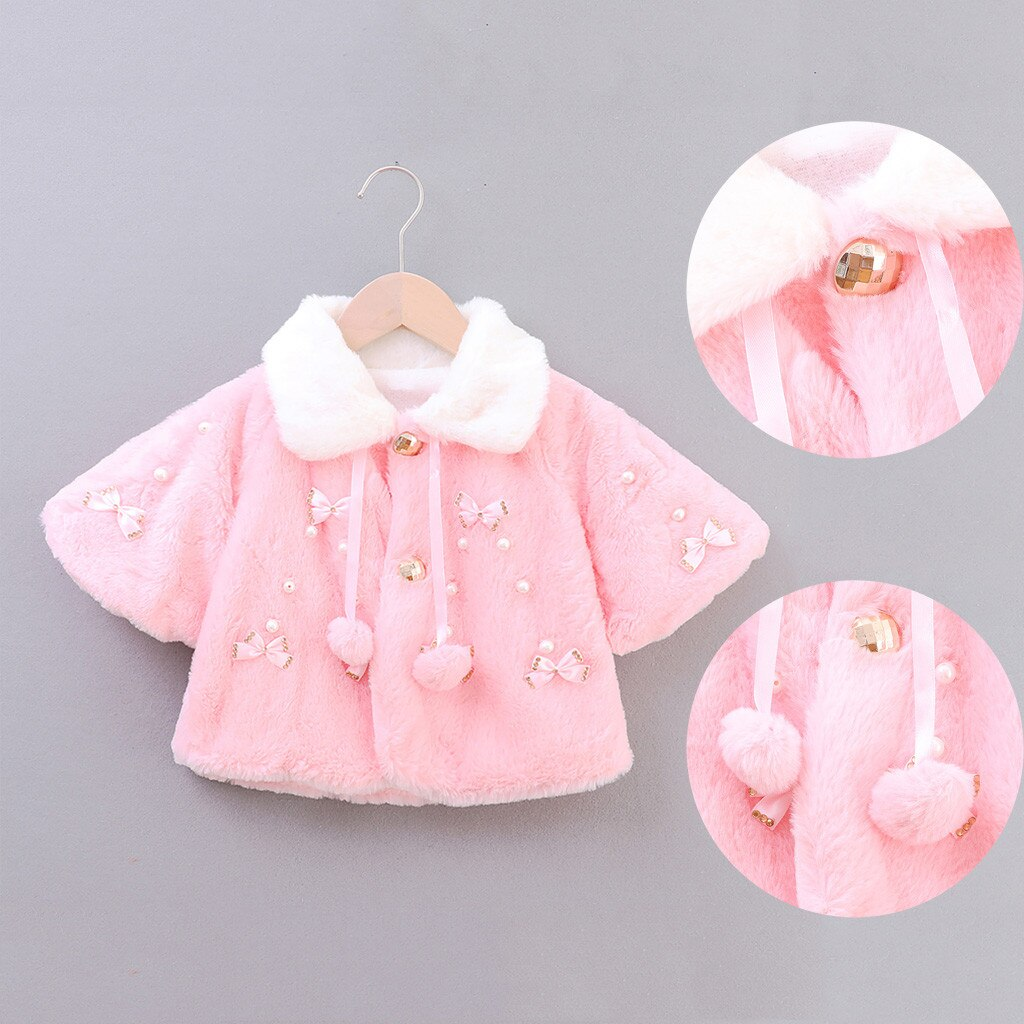 Abrigo de invierno para bebés y niñas, abrigo de Navidad para niños, disfraz de ciervo, capa con capucha # guahao