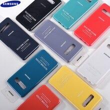 Samsung S10 Plus S10E coque de téléphone Protection complète Silicone liquide couverture 4 côtés coque pour S10 Plus S10e G9730 G9750 G9700