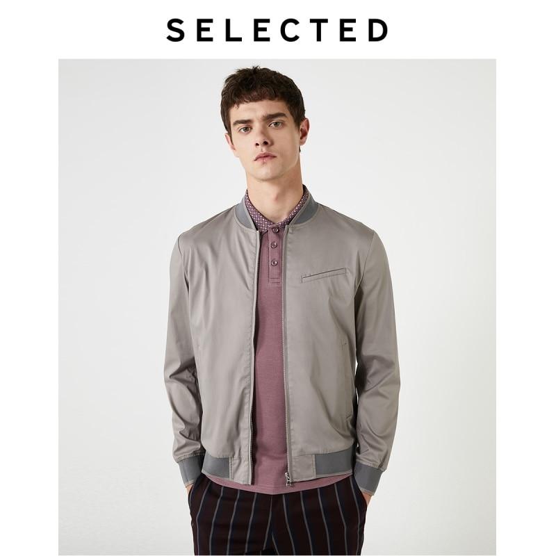 Selecionado outono masculino gola de beisebol outwear nova luz negócios casaco casual s   419321526