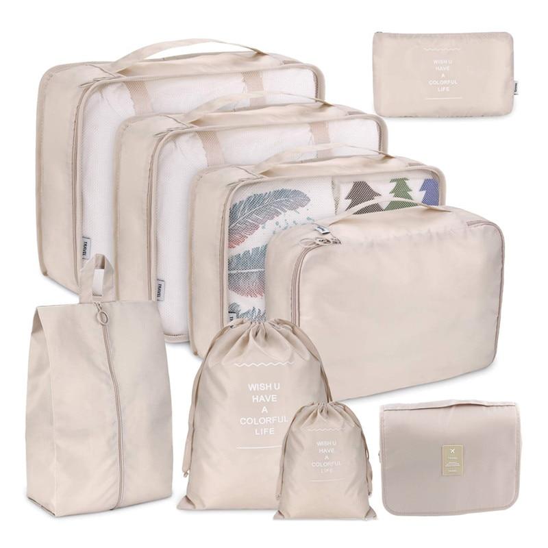 Водонепроницаемая многофункциональная сумка для хранения, органайзер для сортировки одежды, косметики, туалетных принадлежностей, карман...