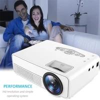 Mini projecteur Portable S280 3D HD LED pour Home cinema  taille de Projection 24-60 pouces  USB AV HDMI  affichage de synchronisation filaire