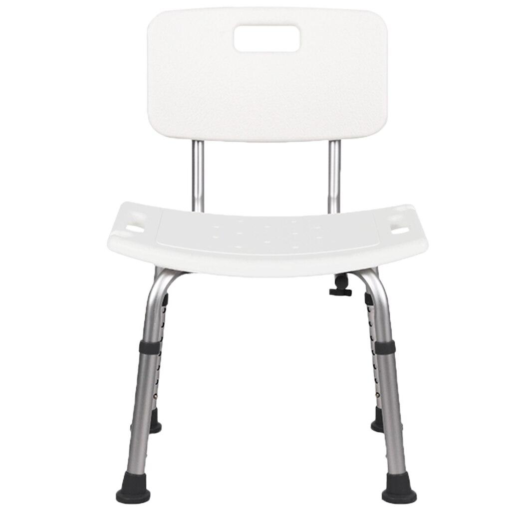 كرسي استحمام مقعد استحمام مع أرجل خلفية وخلفية ، رائع لأحواض الاستحمام ، يدعم