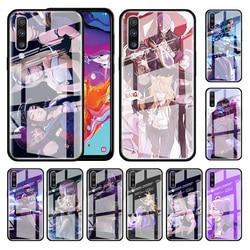Lol kda kaisa ahri akali caso de vidro para samsung galaxy a70 a50 a51 m51 a20 a10 a11 a31 a71 m31 m21 stalinite capas de telefone