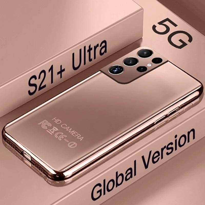 Galay S21 + جدا الهاتف الذكي 7.3 بوصة 16GB + 512GB 6800mAh إفتح 4G/5G Android10.0 النسخة العالمية الهاتف المحمول Celulares الهاتف المحمول
