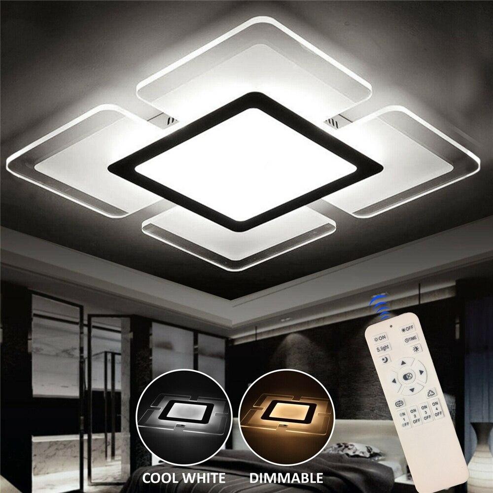 YEFUI 20 سنتيمتر الاكريليك سقف ليد حديث أضواء مربع لوح إضاءة غاطسة للمطبخ غرفة نوم غرفة المعيشة الجدار مصباح التيار المتناوب 110-220 فولت