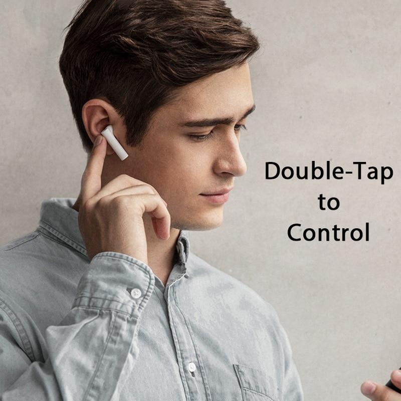 Hot Sale Xiaomi Air 2 True Wireless Earphones Mi Air2 Smart Voice Control LHDC Tap Control Dual MIC With Mic Handsfree enlarge
