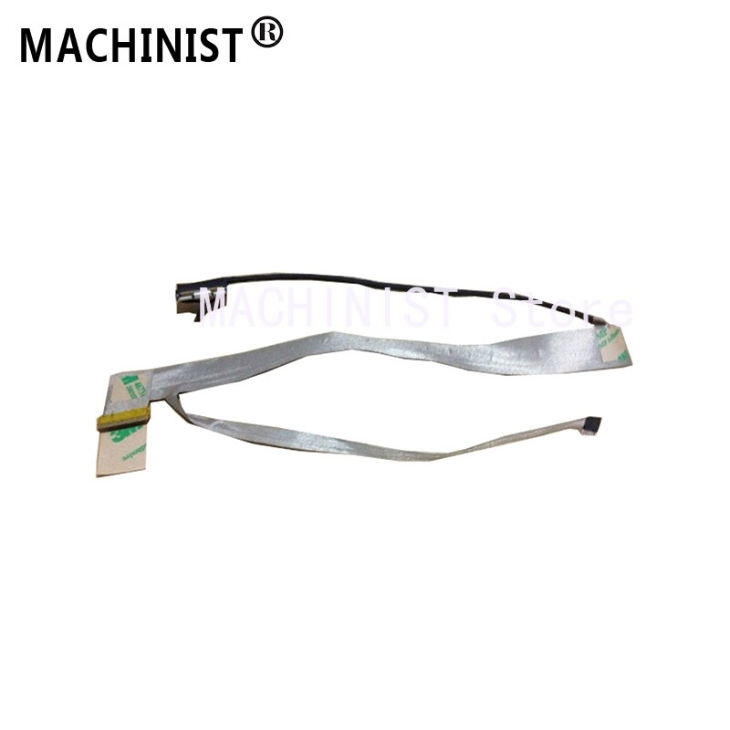 Cable flexible de pantalla de vídeo para Hasee A560P K580P K580S K580C K580N alta laptop LCD LED LVDS cable de cinta de pantalla DD0TWHLC000