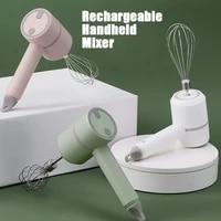 2021 rechargeable milk frother electric wireless mixer portable handheld milk foamer electric food blender mixers milk frother