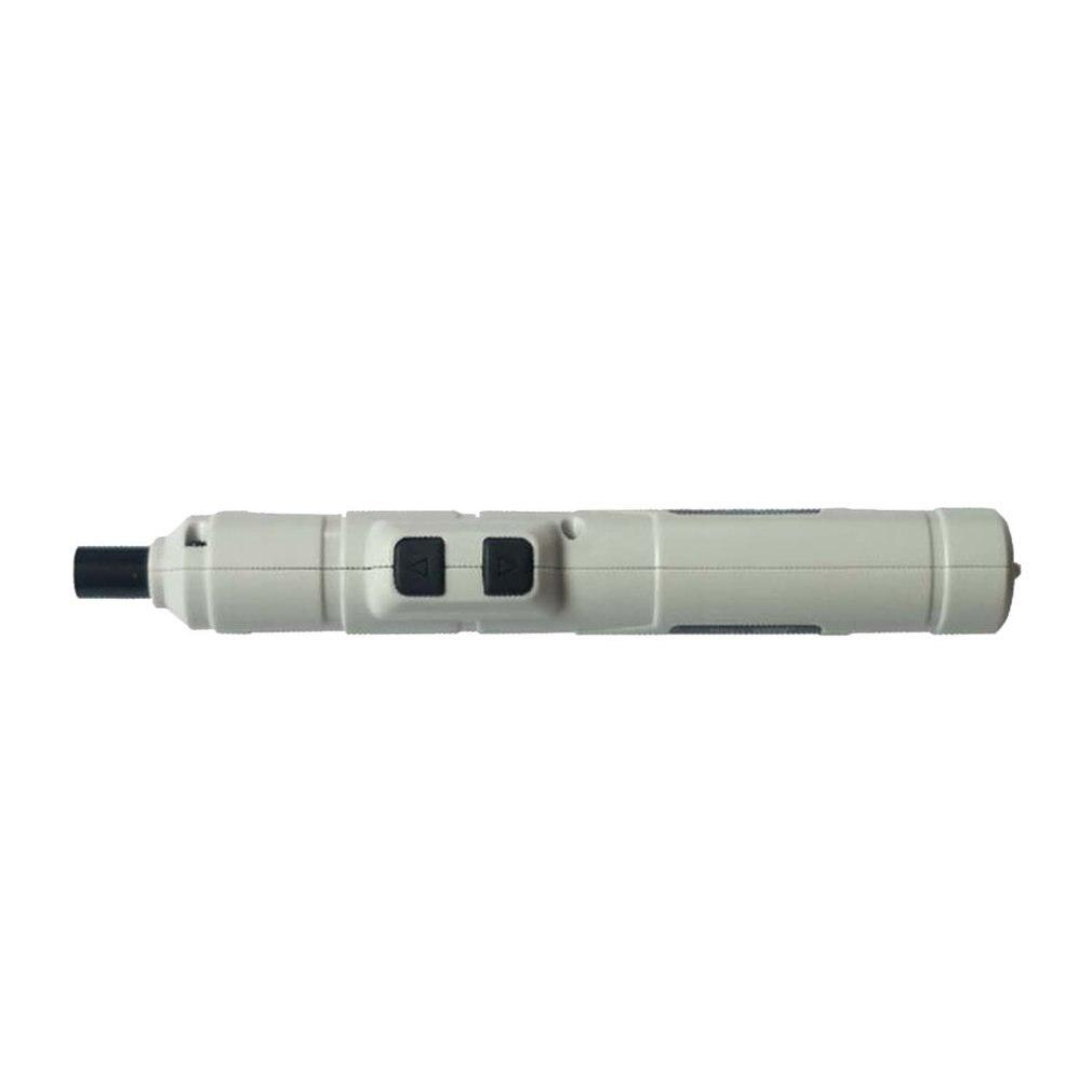 Destornillador eléctrico de tipo pluma, destornillador eléctrico inalámbrico de Metal, herramienta de destornillador en miniatura, mini juego de 1 Juego