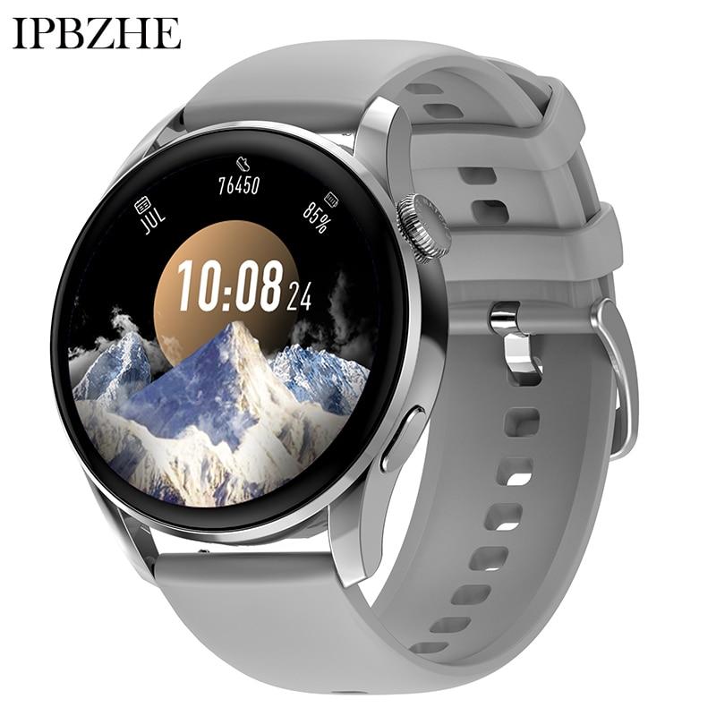 Ipbzhe 2021 Smart Watch Women Bluetooth Call Android Blood Oxygen ECG Smart Watch Men Music SmartWat