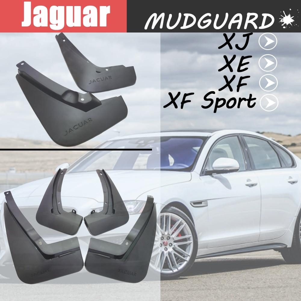 Car Front Rear Mud Flap Splash Guards Mudguards For Jaguar XJL XE XF XF Sport  Fender Mudflap Auto Accessories Mud Flap
