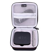 LTGEM EVA Shockproof Waterproof Carrying Case for Apple TV 4K(32GB/64GB,Latest Model)