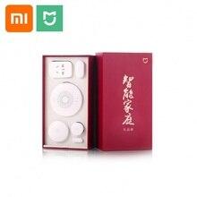 Xiaomi Mijia Smart Home Kit Gateway Window Door Sensors Body Sensor Wireless Switch Mi 5 in 1 Security Kit Family suit