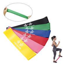 Corde de traction de développeur de poitrine de ficelle en caoutchouc de Crossfit de Yoga antidérapant de bande de résistance de Pilates pour léquipement de forme physique de gymnase dexpansion de sport