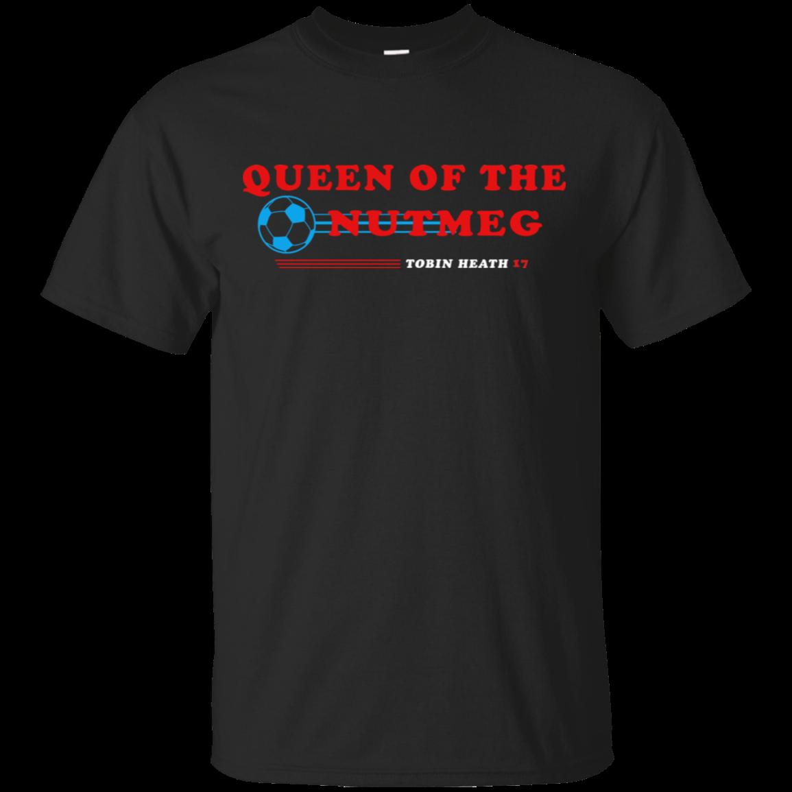 Tobin Heath Queen Of The Nutmeg Uswnt Players T Shirt Black Navy Men Women
