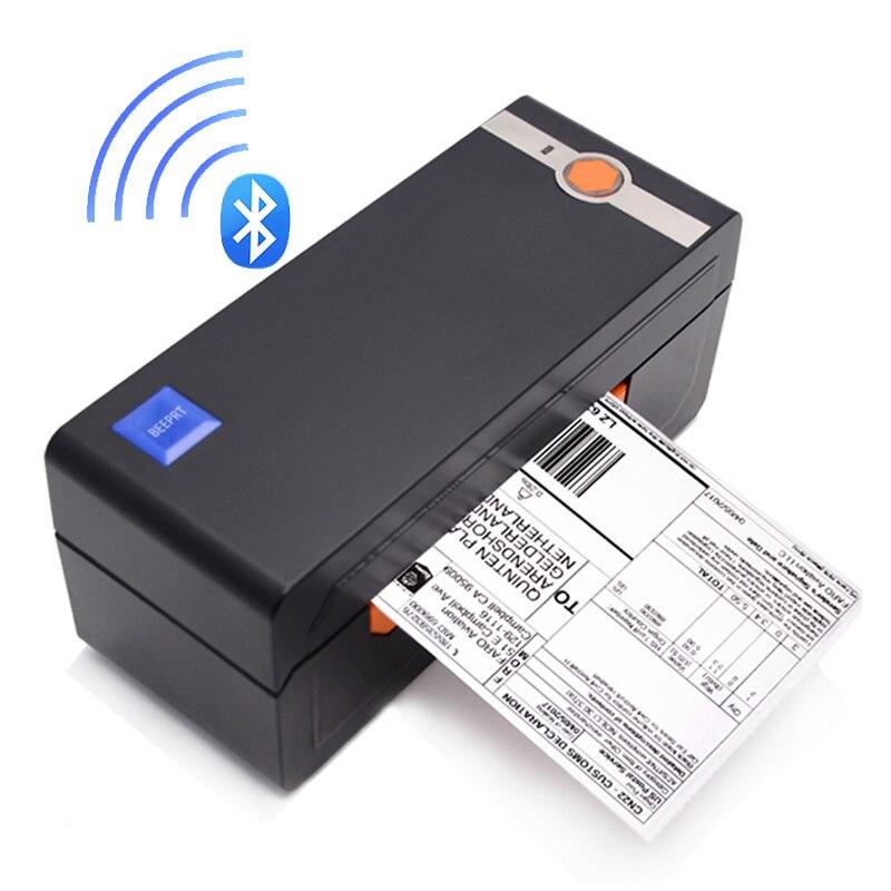 Impresora térmica de etiquetas con código de barras Bluetooth USB 4*6 impresora de envío Compatible con eBay Amazon Shopify máquina de pegatinas térmicas
