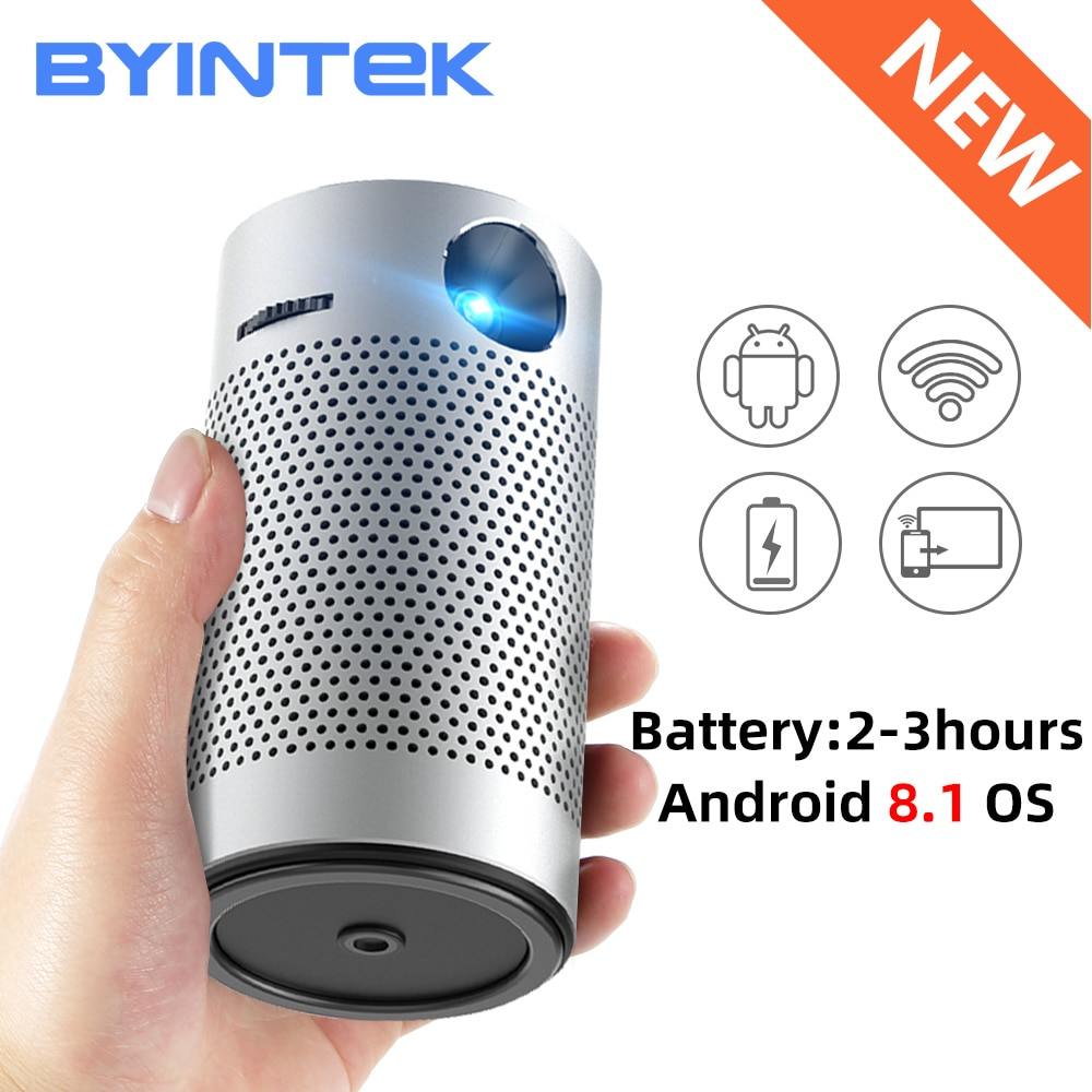 BYINTEK P7 Android 1080 4K Mini cine Video bolsillo LED Pico Mico...