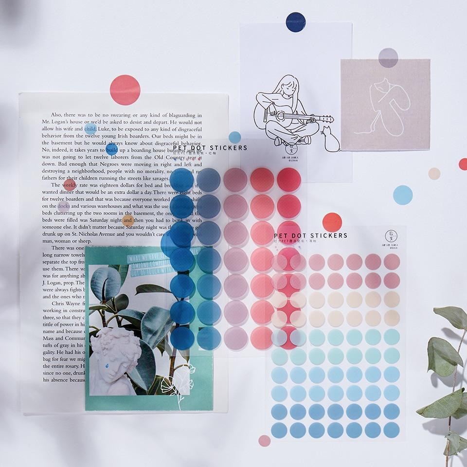 jianwu-3-lenzuola-semplice-base-di-colore-fresco-dot-pet-adesivi-kawaii-creativo-decorazione-fai-da-te-trasparente-rivista-scuola-forniture