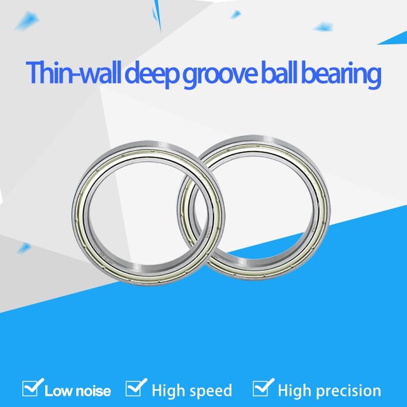 1 قطعة الكرة العميق رقيقة الجدار تحمل 16010ZZ 7000110 القطر الداخلي 50 * القطر الخارجي 80 * الارتفاع 10 مللي متر.