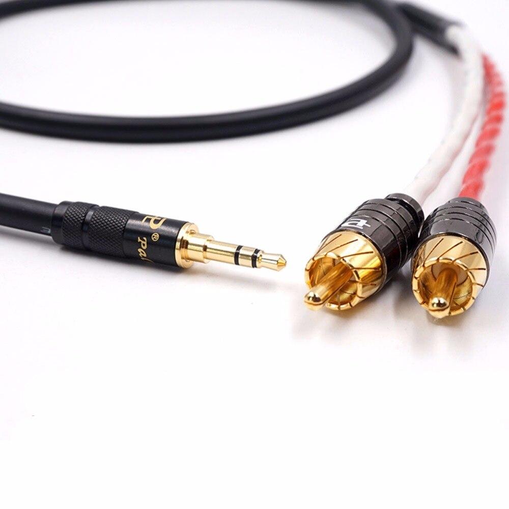 Alta calidad A54 HIFI TRRS equilibrado de 2,5mm a 2 RCA macho de Cable de Audio para Cayin N5 Iriver AK240 AK380 AK120II Amp Onkyo DP-X1
