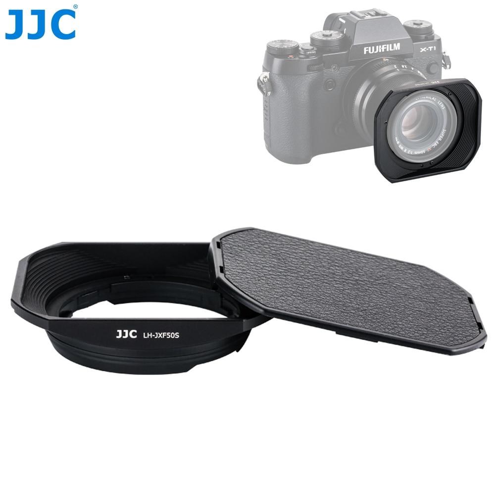 JJC квадратное металлическое переходное кольцо комплект бленда объектива камеры для объектива FUJINON XF50mmF2 R WR на X-T4 X-T200 X-A7 X-T100 X-T30 X-Pro3