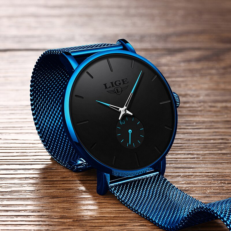 Watch Men 2021 LIGE Sale $ 14.99 Fashion Business Men Watches Top Brand Luxury Waterproof Casual Simple Quartz Watch