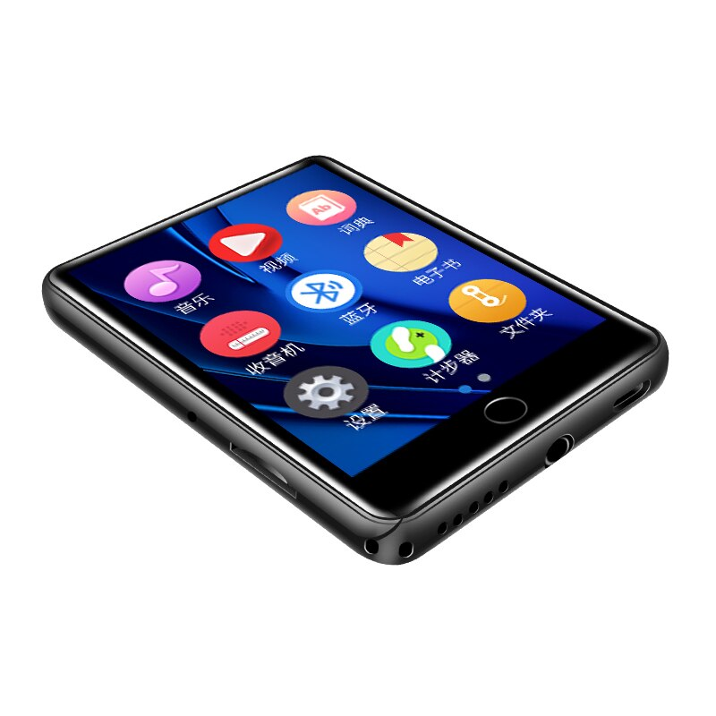 M7 Metal MP4 player Bluetooth 5.0 built-in speaker 2.8 inch large touch screen mp3 e-book pedometer recording radio video enlarge