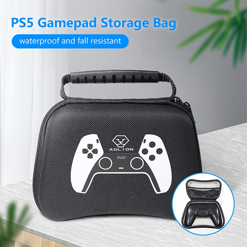 For PS5 Gamepad Storage Bag EVA Hard Waterproof Protective Carry Case for Playstation 5 Accessories недорого
