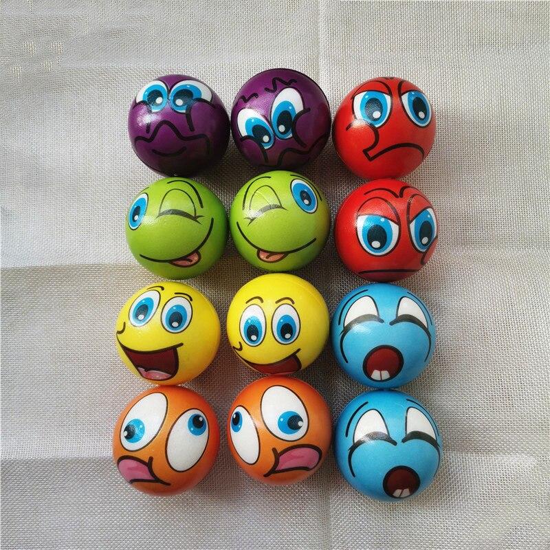 bolas antiestresse para criancas 12 tamanhos de 63cm espuma pu macia brinquedo para