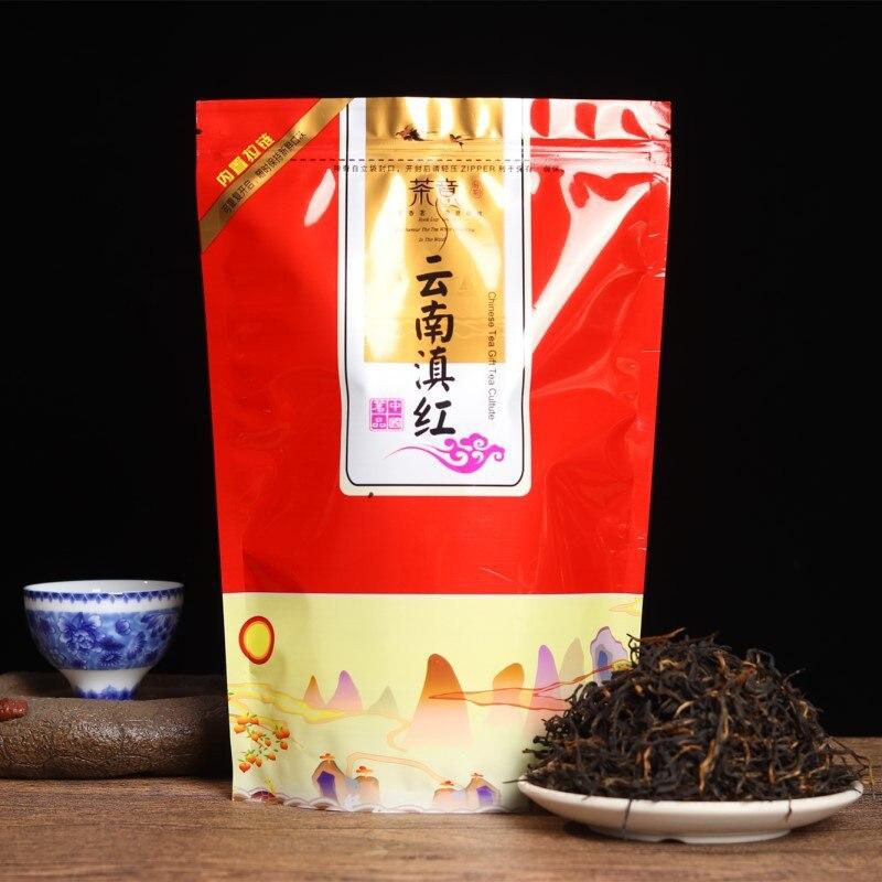 4a chinês yunnan dian hong chá o chá superior dianhong beleza emagrecimento diurético para baixo três comida verde dian hong chá preto