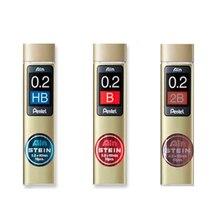 LifeMaster Pentel Stein recharges de plomb de crayon de silice améliorée 20 recharges-0.2mm * 60mm-HB, B, 2B pour crayons mécaniques C272