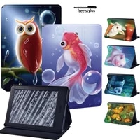 new soft shell tablet case for kindle 10thkindle 8th 6kindle paperwhite 1 5th2 6th3 7th4 10th animal series pattern case