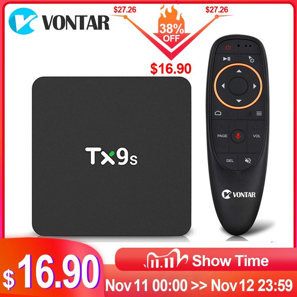 2020 tx9s caixa de tv amlogic s912 octa núcleo 2gb 8gb 4k conjunto caixa superior suporte wifi youtube media player caixa de tv inteligente tanix tx9s