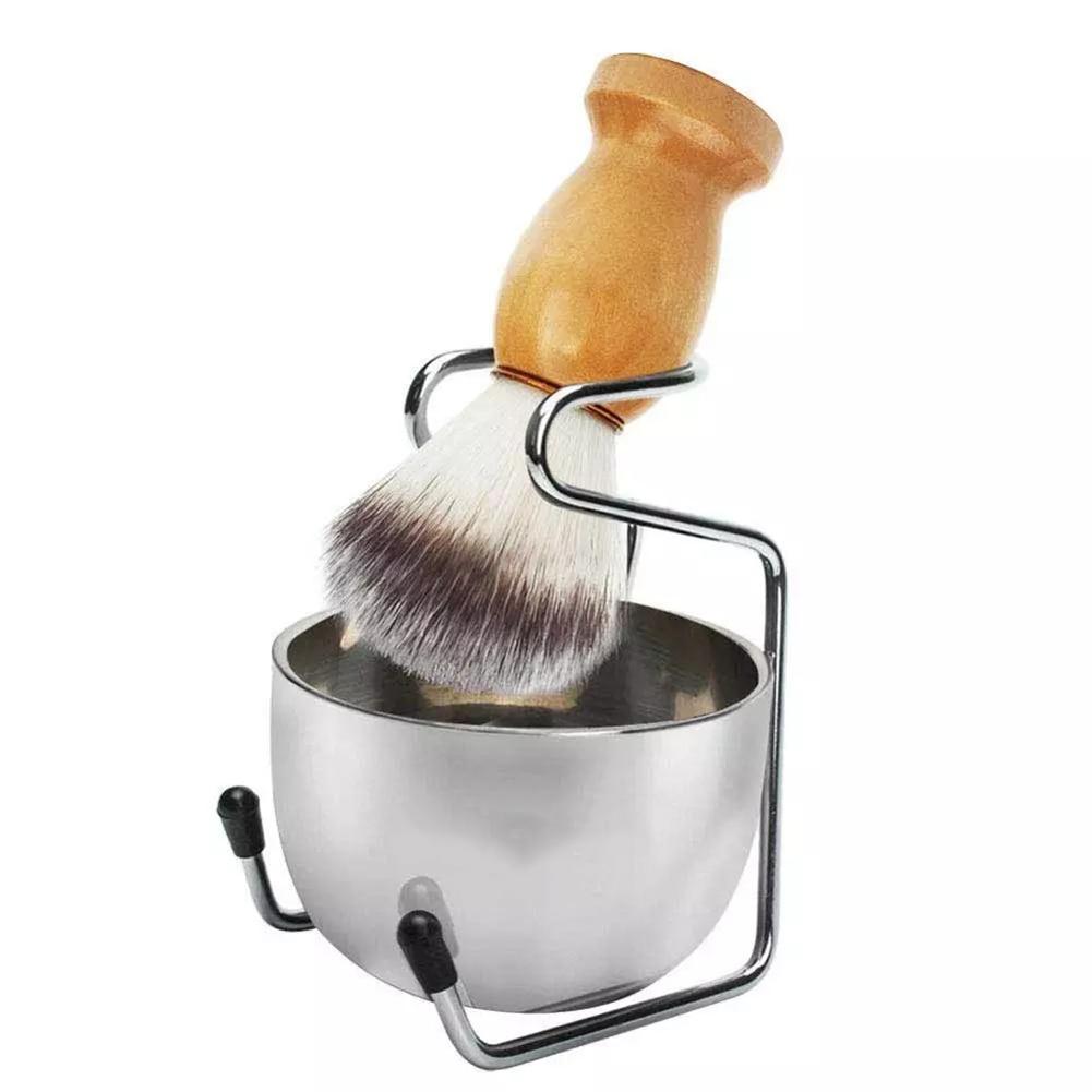 AliExpress - Shaving Set Soap Bowl + Shaving Brush + Stand Holder, Natural Boar Bristle Beard Brush Kit Pure Badger Hair Shaving Brush Kit