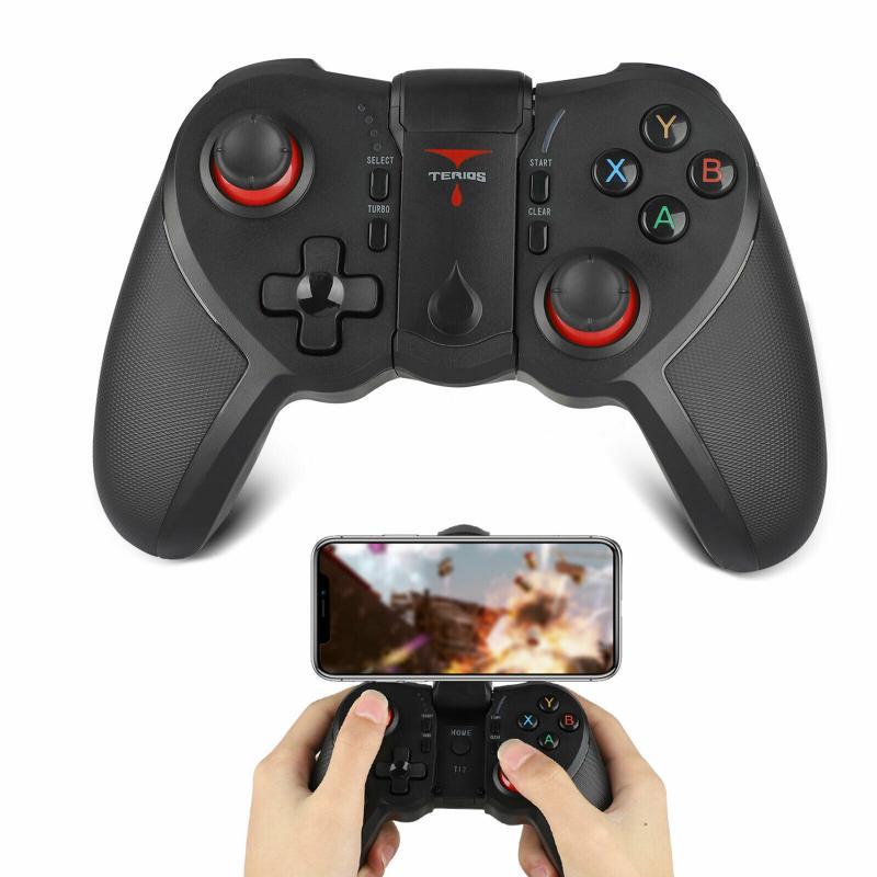 Controle de videogame compatível com bluetooth, joystick para android, ios, tablet, jogos, acessórios