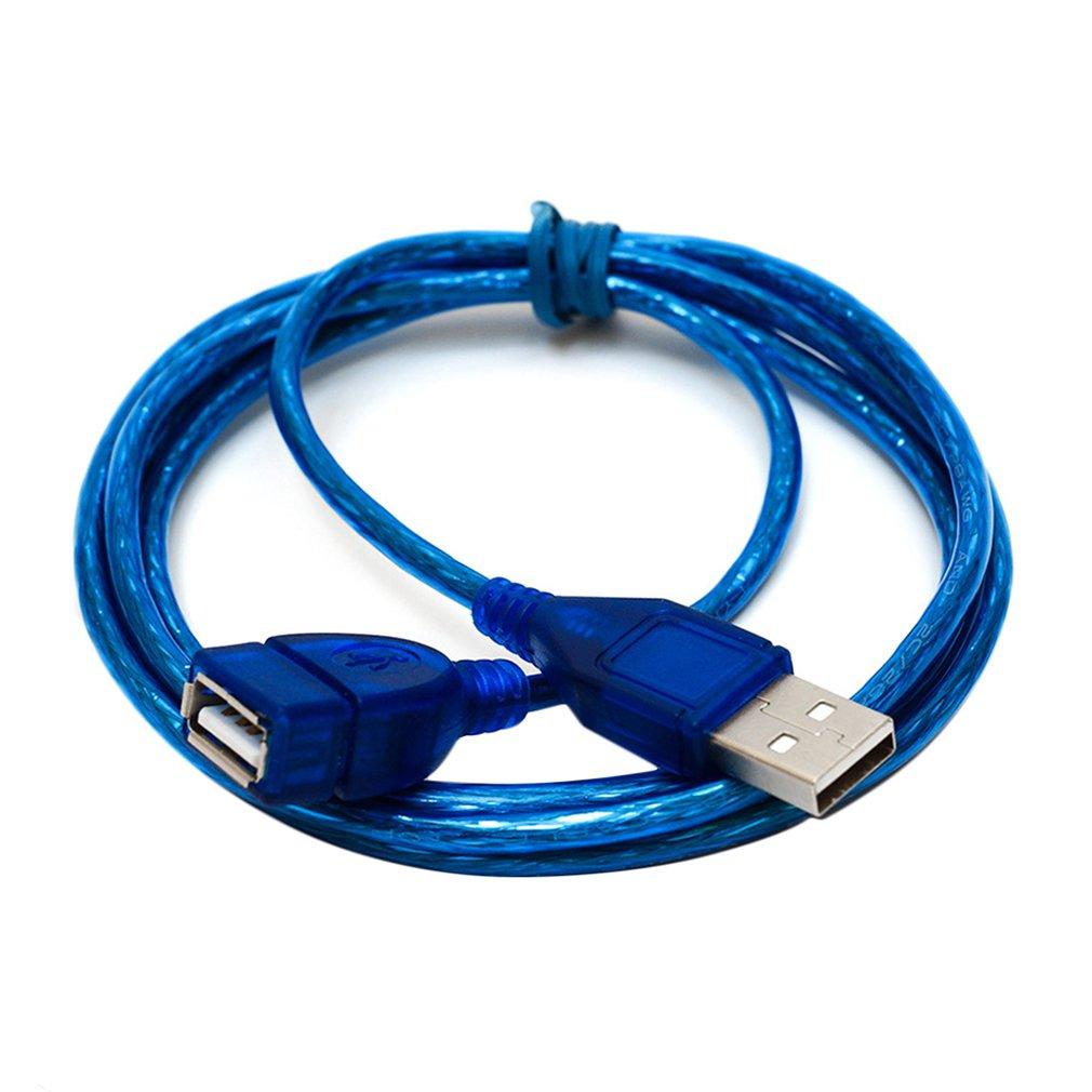 JINCHI 1M/1,5 M/2M Super largo USB 2,0 extensión de macho a hembra...