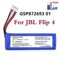 original gsp872693 01 3000mah replacement battery for jbl flip 4 flip 4 special edition batteries with tools